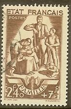 """FRANCE TIMBRE STAMP N°578 """" TRAVAIL FAMILLE 2F40+7F """" OBLITERE TB"""