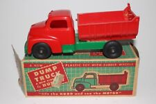 1950's Hubley GMC Plastic Dump Truck, with Original Box