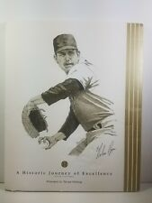 Nolan Ryan A Historic Journey Of Excellence by Tarrant Press Complete Set W/Card