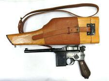 Broomhandle Mauser & Mauser C96 Wooden Holster With Shoulder Strap Sling