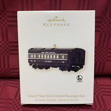 2008 Hallmark Keepsake Lionel New York Central Passenger Car Ornament New Mint