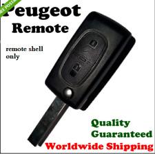 Peugeot 308 307 207 2 BUTTON REMOTE FLIP KEY FOB CASE