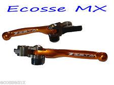 KTM SX125 SX150 XC200 2014-2015 ZETA Naranja Flexible Freno De Embrague Palanca