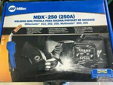 Miller Acculock Mdx 250 Mig Gun 15 Ft 030 035 Liner 1770037
