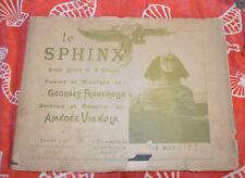 Le Sphinx - Fragerolle - Vignola - Cartonnage - Jaquette