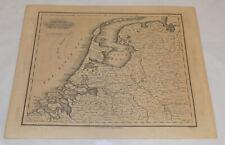 c1834 Antique Map/THE SEVEN UNITED PROVINCES w/DEPENDENCIES/NETHERLANDS