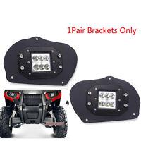 1Pair LED Headlight Mounting Bracket For Polaris Sportsman 1000 850 570 RZR 800