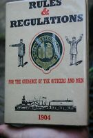 GWR 1904 Book Rules and regulations
