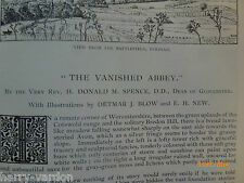 Evesham Abbey Spice Factory Leeds Local History Old Article Morroco Travel 1892