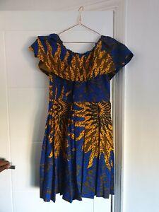 Stylish African Print Dress size 16