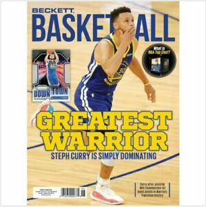 New June 2021 Beckett Basketball Card Price Guide Magazine With Steph Curry
