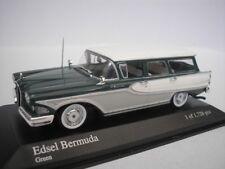 Ford EDSEL Bermuda Station Wagon Immobilier 1958 Vert 1/43 Minichamps 400082011