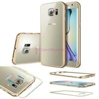 Ultra-thin Luxury Aluminum Metal Case Cover Gold for Samsung Galaxy S 6 T@