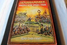 Games Workshop Warhammer Fantasy Battle for Skull Pass Read this First Book