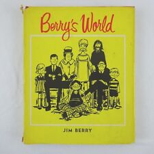 Jim Berry - Berry's World, 1967 Hardcover Book, Political Comics, 1st Edition