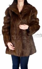 AMAZING OTTER LONG JACKET - REAL FUR -  MADE IN SPAIN