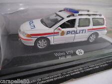 AUTO DELLA POLIZIA DA COLLEZIONE modellino 1:43 - Volvo V70 Norvegia