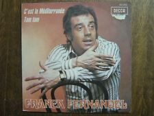 FRANCK FERNANDEL 45 TOURS FRANCE TAM TAM