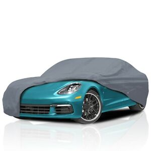 [CSC] 5 Layer Waterproof Full Car Cover for Saab 9-3 Coupe Convertible 1999-2006