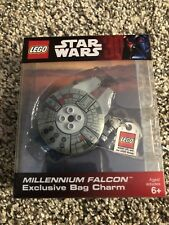 NEW Star Wars Millennium Falcon Exclusive Bag Charm Lego #4520679 millenium