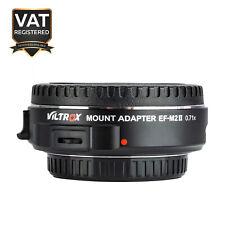 Viltrox EF-M2 II AF Adapter 0.71x Speed Booster For Canon EF Lens - Black
