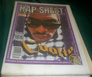 RAP SHEET magazine Coolio Goodie MOB AZ Mad Skillz Million Man March