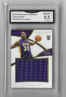 2014 Julius Randle Rookie x/99 Jersey Mint 8.5 Card