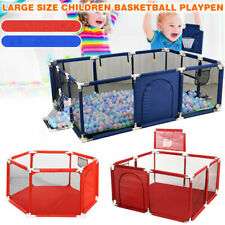 Baby Panel Playpen Child Safety Play Yard Kid Toddler Activity Indoor Outdoor