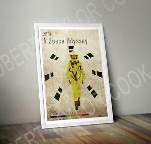 2001: A Space Odyssey Retro Print/ Poster - Digital Art Stanley Kubrick A3