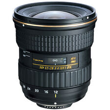 Tokina At-x 12-28mm F4 Pro DX Lens for Canon Genuine