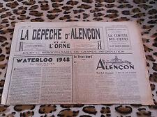 Journal - La Dépêche d'Alençon et de l'Ornen° 6, 02/12/1948