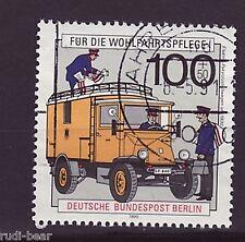 Berlin Nr.  878  gest.  Elektro Paket Zustellwagen um 1930    -1