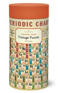 Cavallini - Vintage Jigsaw Puzzle - 1000 Pieces - 55x70cms - Periodic Chart