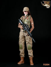 Fire Girl Toys 1/6 Scale Female Gunners Camouflage Clothing Sets F 12'' PH Body