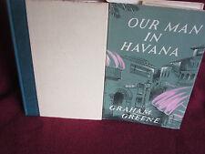 OUR MAN in HAVANA ~ Graham GREENE.  1960 HbDj  UNread FUN SATIRE.   in MELBOURNE