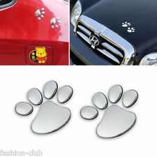 Lovely Dog Paw Foot Print Auto Car Window Bumper Body Decal Sticker Emblem Logo