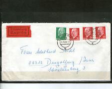 Briefmarken der DDR (1960-1970) als Bedarfsbrief