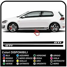 VW GOLF V-VII GTI SPORT STRISCE GTI Strisce laterali Adesivi fasce laterali Set