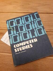 Longman: Mathematics At Work: Computer Studies, 1978 Paperback, Reynolds, Howden
