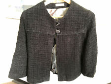 New BANG COUTURE Long Sleeve Jacket fully lined Sz 8 Black  FREE POSTAGE