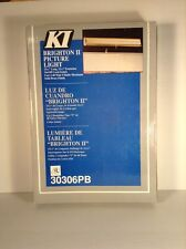 """Brighton I I Picture Light. 15 1/2"""" Extension On/Off Cord Switch"""