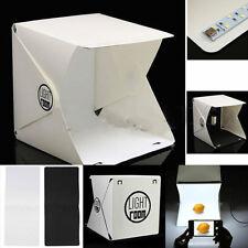 "Light Room Mini Photo Studio 9"" Photography Lighting Tent Backdrop Cube Box ESUS"
