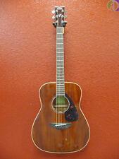 Yamaha FG850 All Mahogany Dreadnought Acoustic Guitar, Free Shipping Lower USA