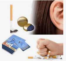 Anti Smoking Magnetic Patch Ear Magnet Stop Cigarette Smoke Quit Ear Acupressure