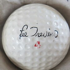 (1) LEE TREVINO SIGNATURE LOGO GOLF BALL (DURA BALL SURLYN CIR 1968) #4