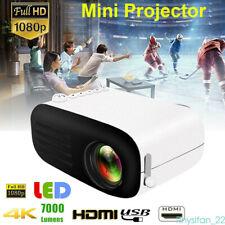 1080P Heimkino-Beamer Projektor Eingebauter Akku HDMI LCD USB 4K Mini Theater