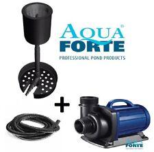 Aquaforte Skimmer Set, Standkimmer, Pumpe und Schlauch