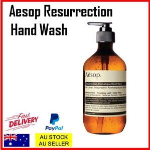 Aesop Resurrection Aromatique Hand Wash 500ml Premium Handwash Cleaning