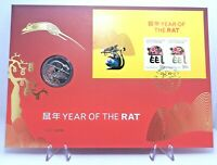 2020 50 Cent Coin PNC Impressions Year of the Rat Prestige CoA 643/888