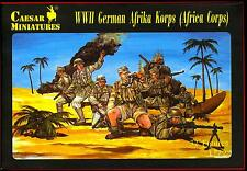 Caesar Miniatures 1/72 GERMAN WWII AFRIKA KORPS Figure Set